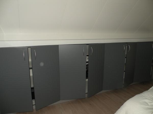 Slaapkamer Onder Schuin Dak  Kasten voor schuine wanden ikea slaapkamer onder schuin dak slim